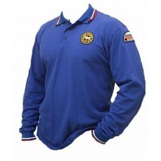 Рубашка поло МЧС с длинным рукавом