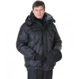 """Куртка """"ПОЛЮС"""" черная"""